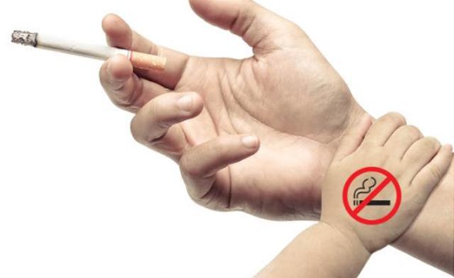 Trẻ nhỏ cần được bảo vệ trước tác hại của thuốc lá