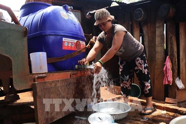 Điều chỉnh giảm giá nước sạch sinh hoạt cho người dân bị ảnh hưởng dịch COVID-19