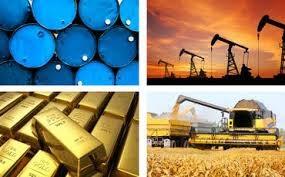Hàng hóa TG sáng 18/10: Giá vàng giảm mạnh, dầu tăng