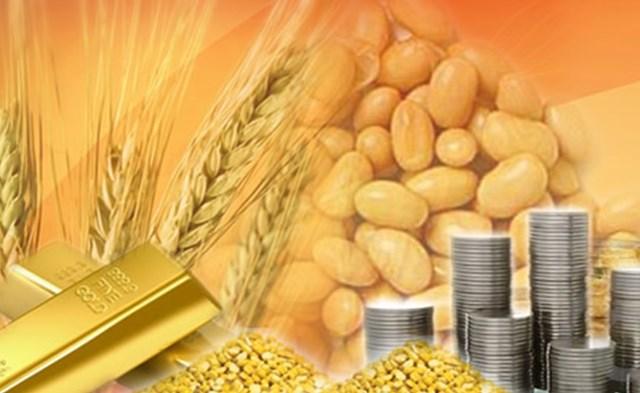 Hàng hóa TG sáng 30/8: Giá lúa mì thấp nhất 10 năm