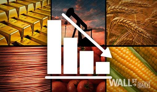 Hàng hóa TG sáng 5/5: Giá đồng loạt sụt giảm