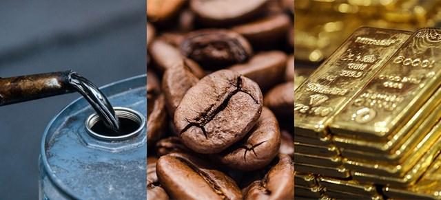 Hàng hóa TG sáng 8/6: Giá dầu giảm mạnh, cà phê và đường tăng