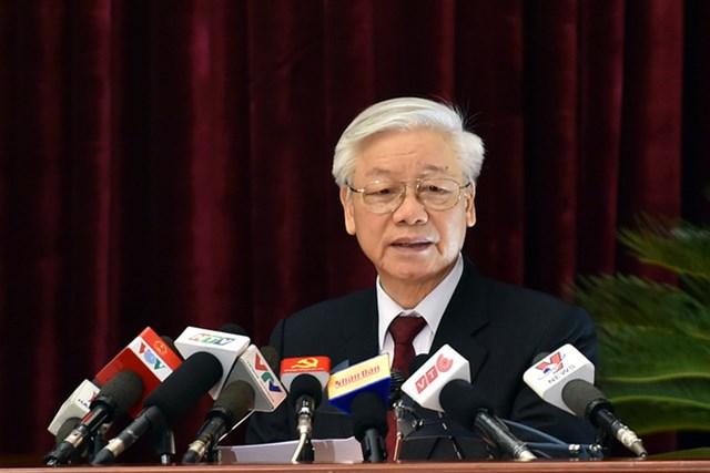 Phát biểu bế mạc Hội nghị Trung ương 5 của Tổng Bí thư Nguyễn Phú Trọng