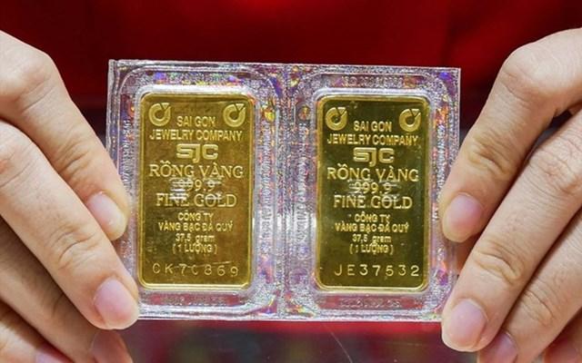 Giá vàng chiều nay bất ngờ đảo chiều tăng gần 2 triệu đồng/lượng