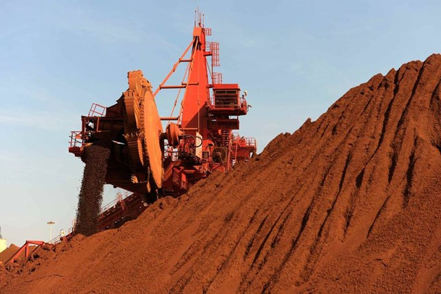 Giá quặng sắt sắp quay đầu giảm