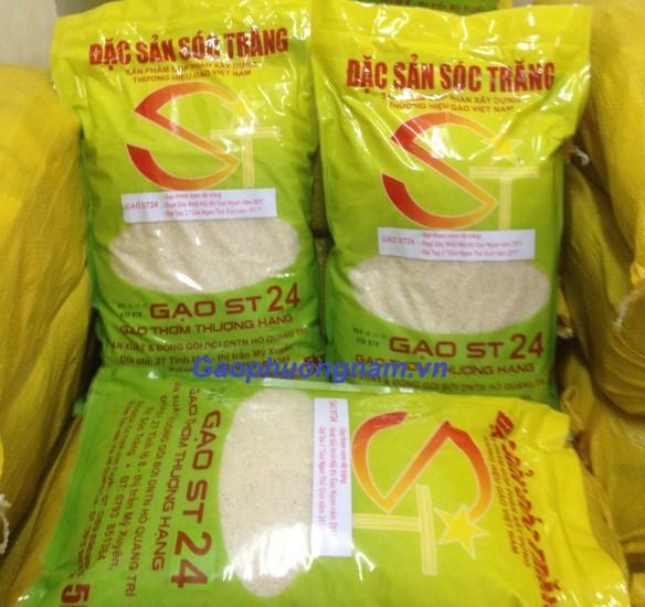 Gạo ST24 của Việt Nam ngon nhất thế giới