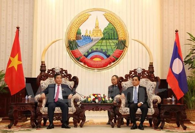 Hợp tác giữa Bộ Kế hoạch Đầu tư Lào và Việt Nam được đánh giá cao