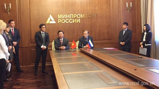 Chính phủ CHXHCN Việt Nam và Chính phủ Liên bang Nga ký Nghị định thư