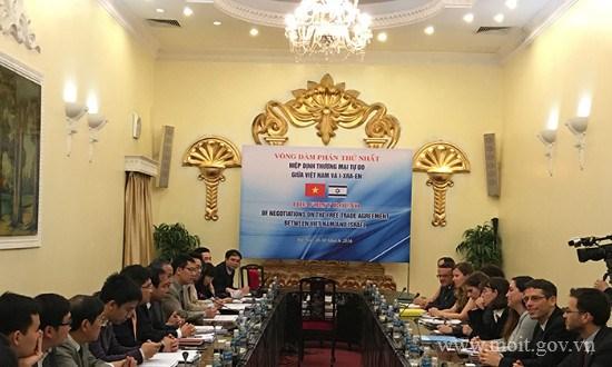 Khai mạc Phiên đàm phán thứ nhất FTA giữa Việt Nam và I-xra-en