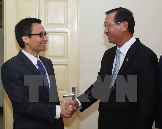 Hỗ trợ doanh nghiệp Việt Nam-Campuchia về công nghệ và đầu tư