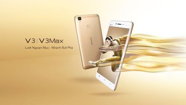 Chính thức ra mắt điện thoại ViVo V3 và V3 Max tại Việt Nam