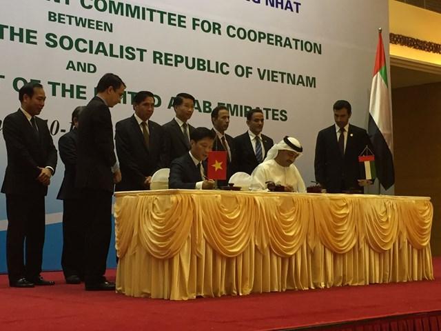 Kỳ họp lần thứ ba Ủy ban liên Chính phủ Việt Nam – UAE