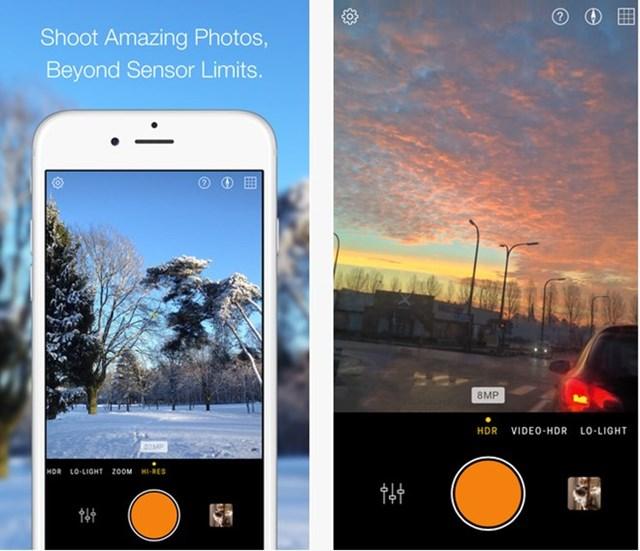 8 ứng dụng chụp ảnh tốt nhất cho iPhone