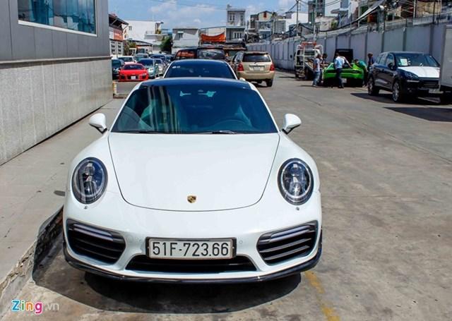 Siêu xe Porsche 911 Turbo S thứ 2 về Việt Nam giá 14,5 tỷ