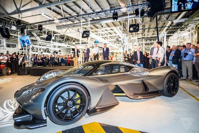 Aston Martin sản xuất siêu xe F1 đường phố giá 4 triệu USD