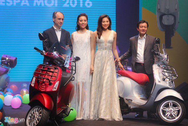 Loạt xe Vespa công nghệ mới ra mắt tại Việt Nam