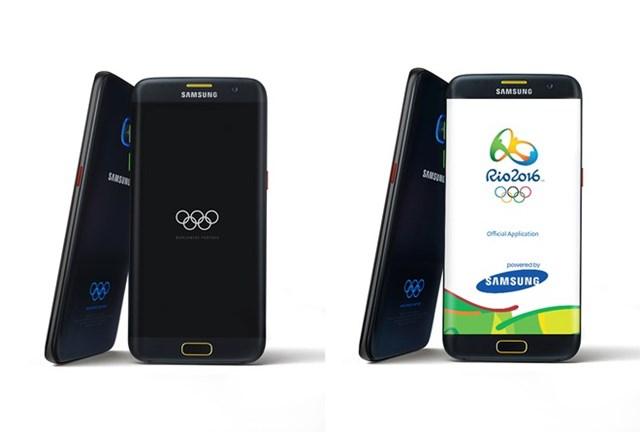 Galaxy S7, S7 edge bản Olympic ra mắt