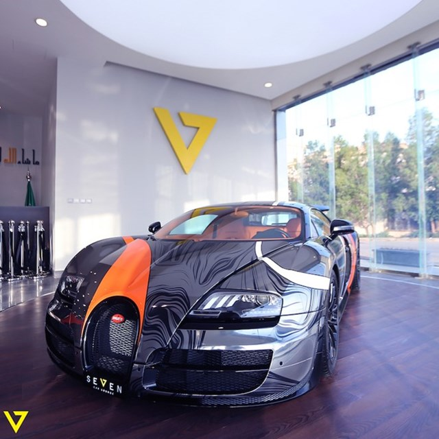 Bugatti Veyron Super Sport màu sơn độc được rao bán