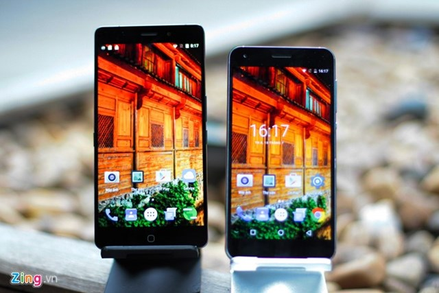 Smartphone RAM 4 GB, giá dưới 5 triệu về Việt Nam