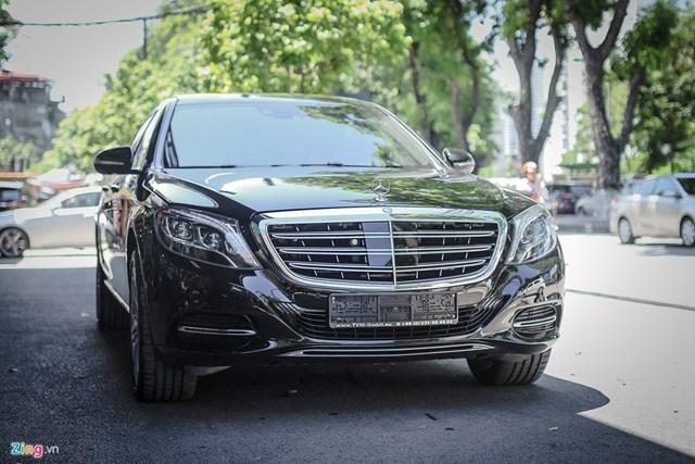 Chi tiết xe sang Mercedes-Maybach S500 tại Hà Nội