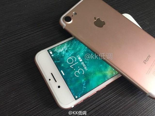 iPhone 7 lần đầu lộ ảnh màn hình sáng