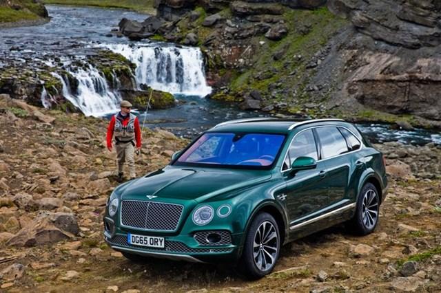 Bentley Bentayga Fly Fishing - Khi nhà giàu đi câu cá