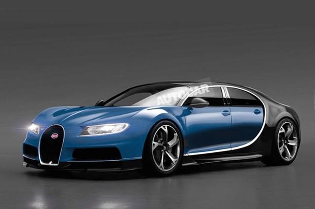 Bugatti sắp hồi sinh siêu xe 4 chỗ ngồi Galibier