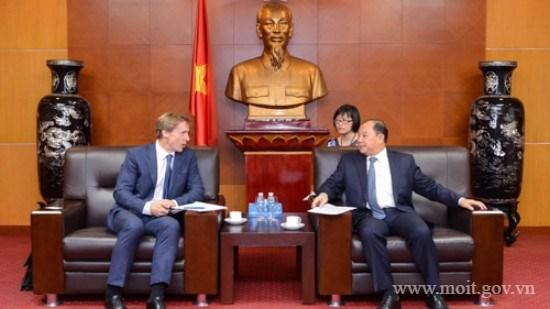 Thứ trưởng Nguyễn Cẩm Tú tiếp Giám đốc Khu vực Châu Á – Thái Bình Dương của WEF