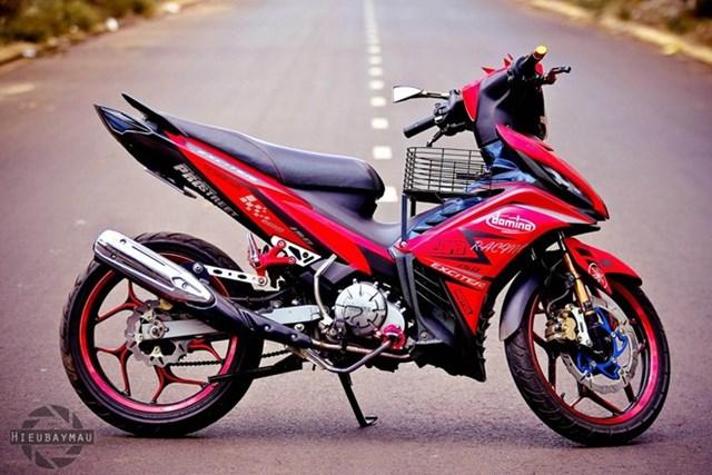 Exciter 135 lên đồ chơi nhẹ của biker Đắk Lắk