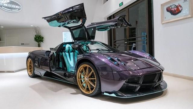 Pagani Huayra phiên bản rồng cho người giàu Trung Quốc