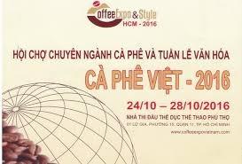 Hội chợ và tuần lễ văn hóa cà phê Việt