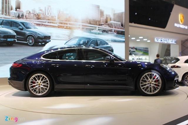 Ảnh thực tế Porsche Panamera Turbo 2017 vừa ra mắt ở VN