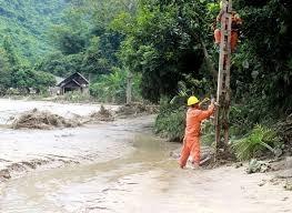 EVN huy động toàn lực đối phó với mưa lũ