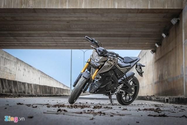 Yamaha TFX 150 naked bike không đối thủ tại Việt Nam