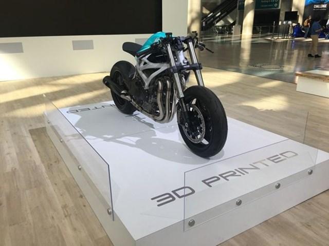 Mẫu môtô đầu tiên dùng công nghệ in 3D
