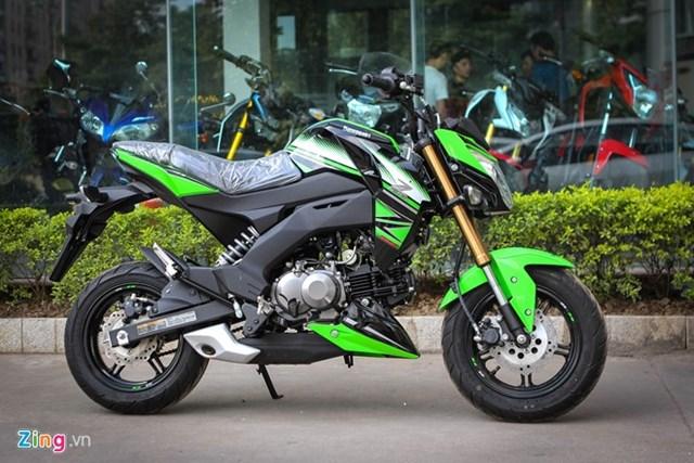 Kawasaki Z125 Pro bản đặc biệt giá hơn 80 triệu tại Hà Nội