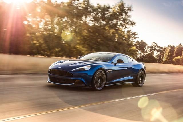 Aston Martin giới thiệu Vanquish S mạnh gần 600 mã lực