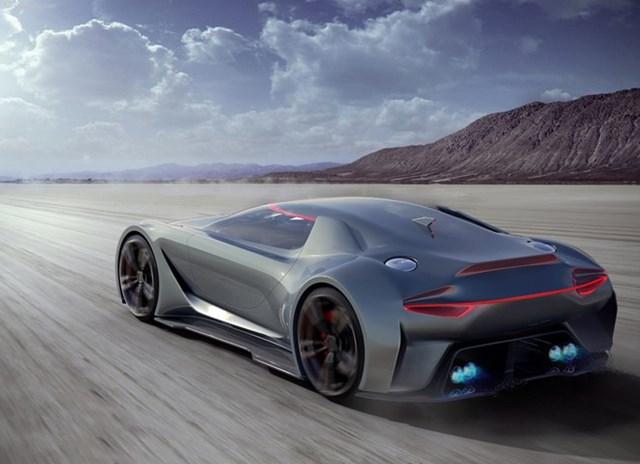 Vision 8 - xe tương lai của Aston Martin
