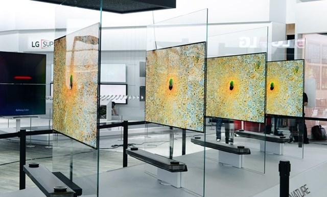 LG tung dòng Signature OLED TV tại CES 2017