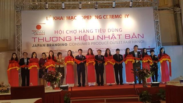 Gần 100 gian hàng quy tụ trong Hội chợ Thương hiệu Nhật Bản tại Hà Nội