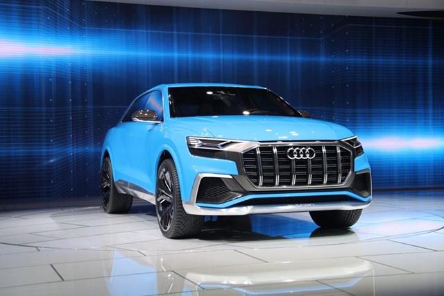Audi Q8 concept: Thách thức mới của BMW X6