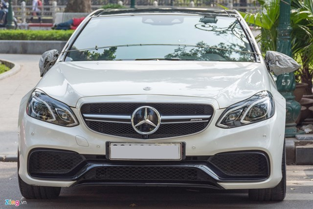 Mercedes E63 S AMG độc nhất tại Hà Nội