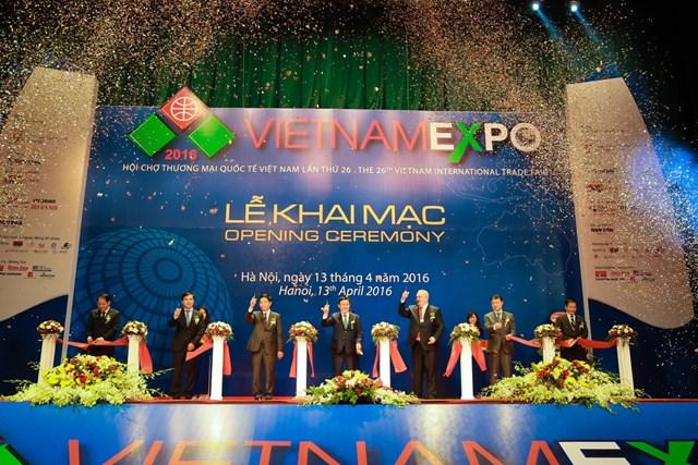 Khởi động Vietnam Expo 2017: Tăng cường kết nối khu vực và quốc tế