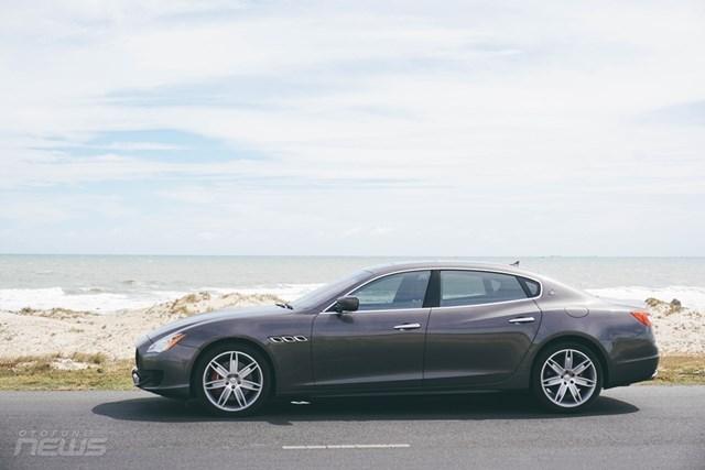 Maserati Quattroporte: Sedan thể thao hạng sang cho người mê tốc độ