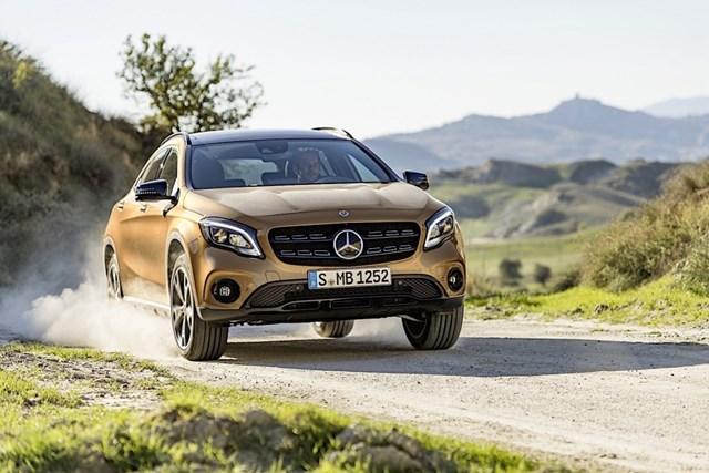 Mercedes-Benz GLA và GLB sẽ có máy dầu diesel 2.0L