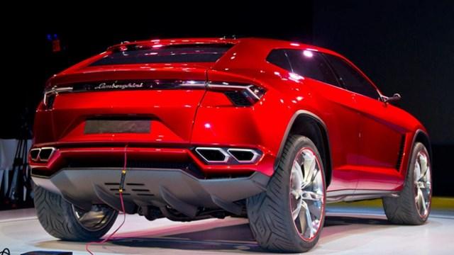 'Siêu SUV' Lamborghini Urus sẽ sản xuất hàng loạt từ tháng 4/2017