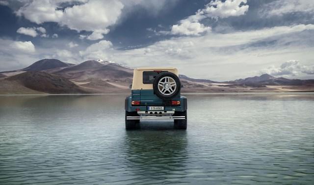 'Off-road' siêu sang với Mercedes-Maybach G650 Landaulet
