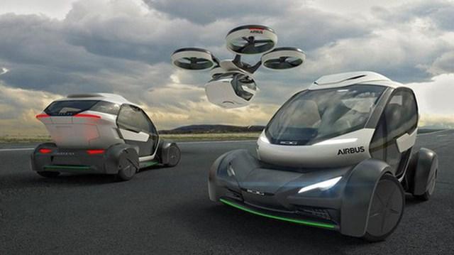 Vừa là ô-tô, vừa là drone bay trên trời - Thiết kế tương lai của Airbus sẽ khiến công