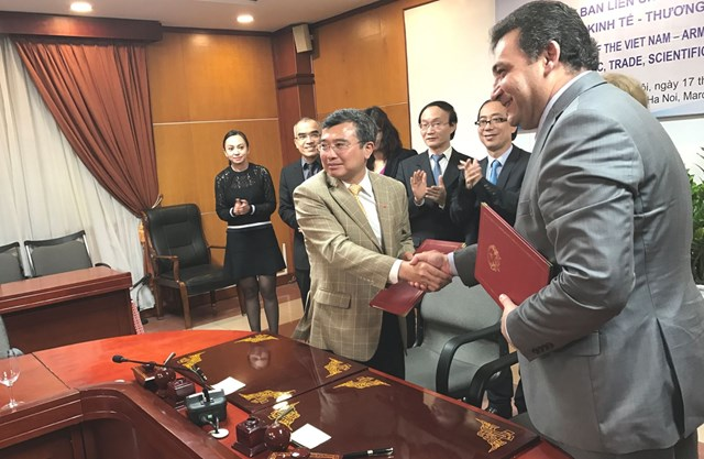 Khóa họp lần thứ nhất UB liên CP Việt Nam – Armenia về hợp tác KT - TM và KH - KT