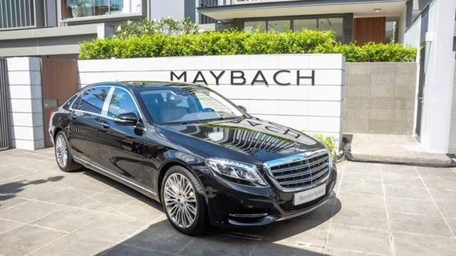 Cận cảnh xe siêu sang Mercedes-Maybach S500 giá 11 tỷ Đồng tại Việt Nam
